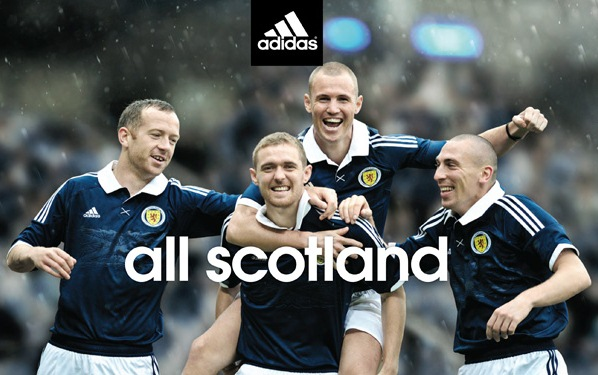 Adidas New Scotland Strip 2011 2012