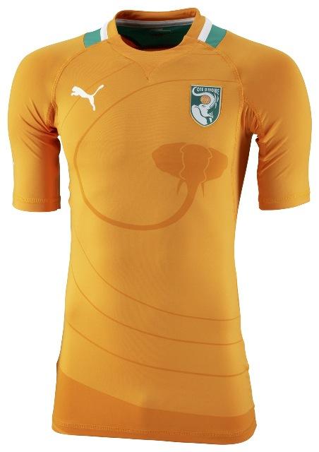 Camiseta Costa de Marfil 2012