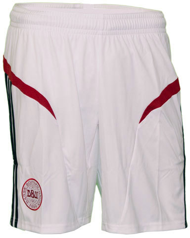 Denmark Football Shorts 2012