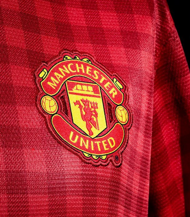 Manchester United Gingham 2013 Top