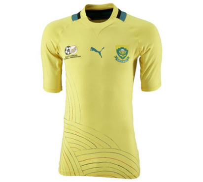 New Bafana Bafana Kit Dua Puma Sa South Africa Jersey Dua Tiga Home Football Kit News New