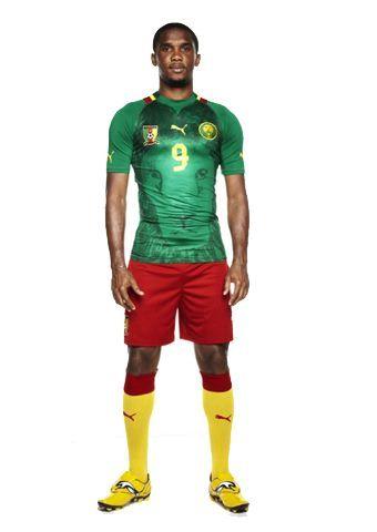 Kameroen voetbalshirt 2012/2013