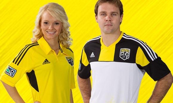 New Colombus Crew Jerseys 2012