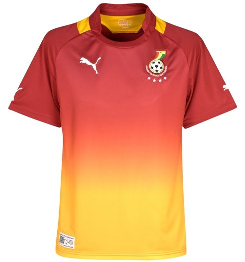 New Ghana Away Kit 12-13