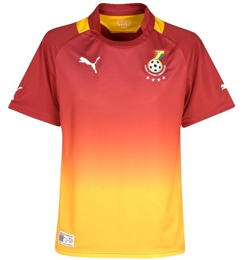 New Ghana Away Kit 12-13