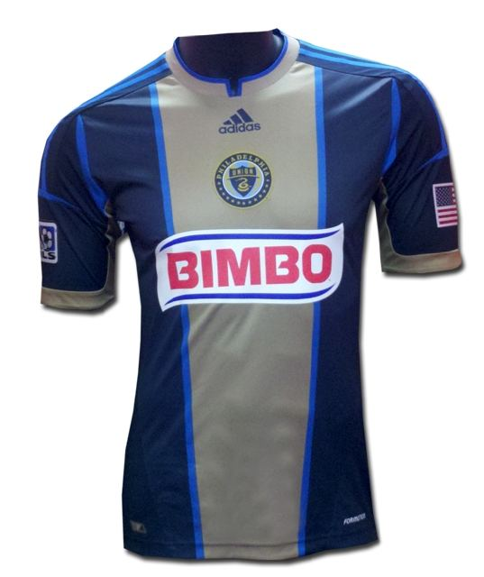 New Philadelphia Union MLS Jersey 2012