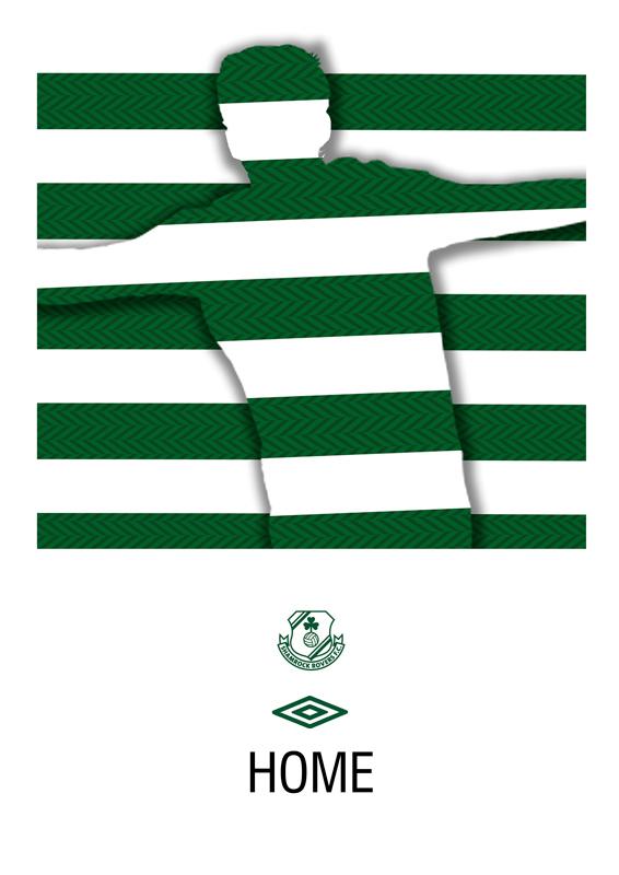 New Shamrock Rovers Kit 12-13