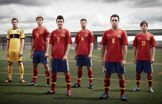 Spanje voetbalshirt EK 2012