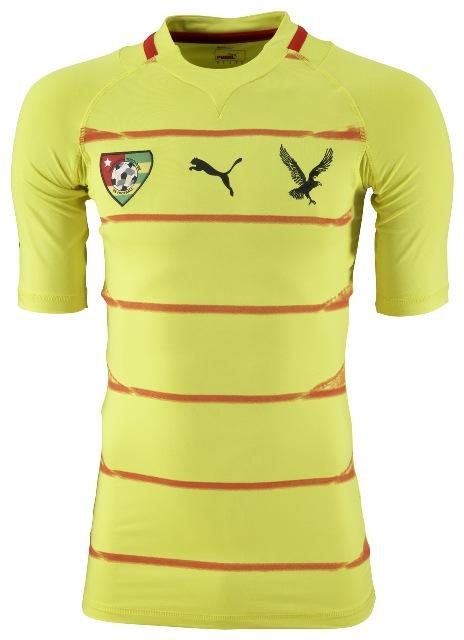 Togo camiseta 2012