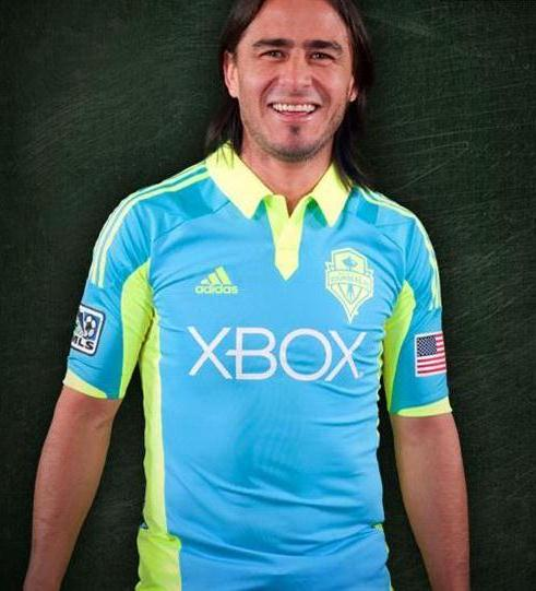 Adidas Seattle Sounders New Jersey 2012