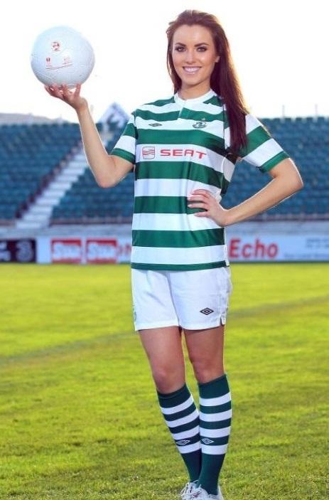 Holly Carpenter Jersey 2012 Shamrock Rovers