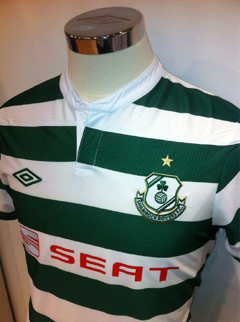 New Shamrock Rovers Jersey 2012