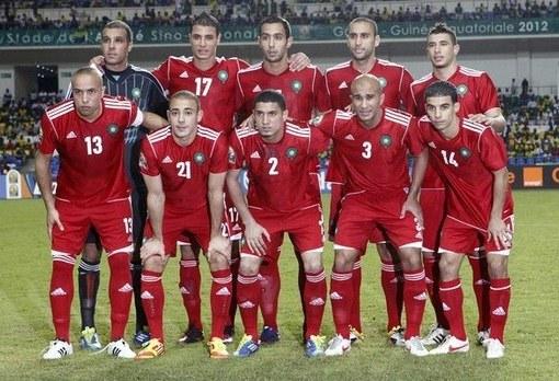 Marokko thuisshirt 2012-2013