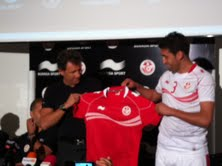 New Tunisia  Jersey 2012- Away Shirt
