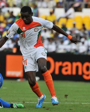 Niger Soccer Jersey CAN 2012 Errea