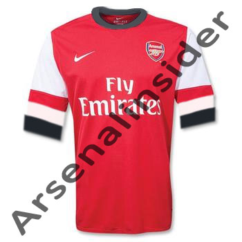 Leaked Arsenal Home Kit 12-13