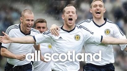 New White Scotland Strip 2012 2013