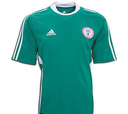 New Nigeria Jersey 2012