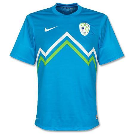 New Slovenia Jersey 2012