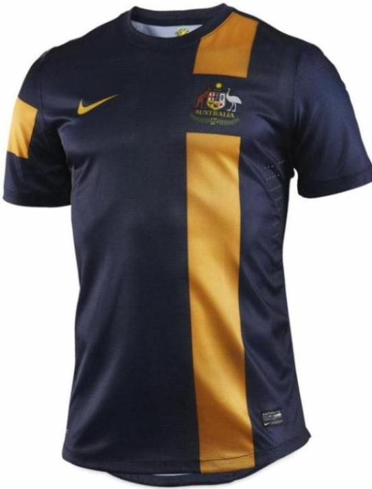 New Nike Australia Away Kit 12-13 Socceroos Jersey 2012/2013