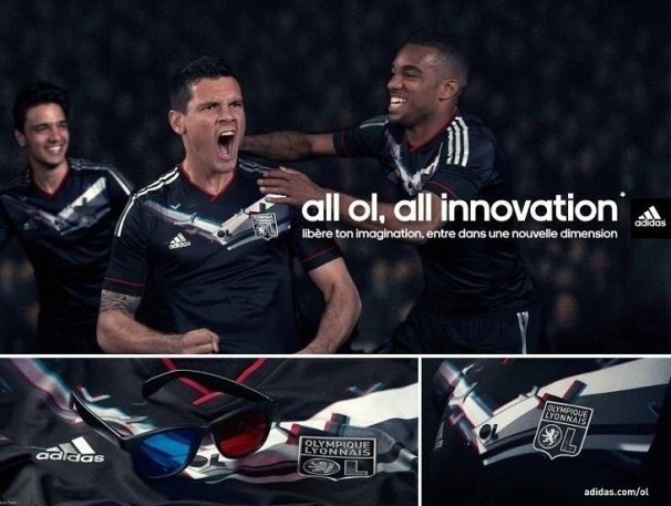 Adidas New Lyon 3D Kit 2012-2013