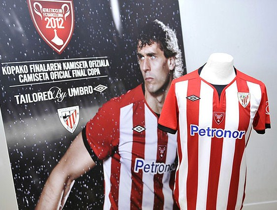 Athletic Bilbao Copa del Rey 2012 Shirt