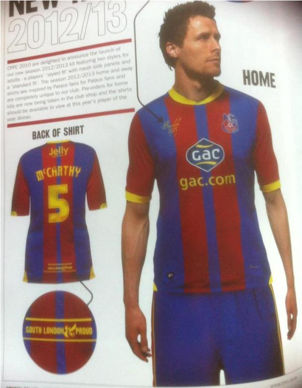 Crystal Palace Home Kit 12-13