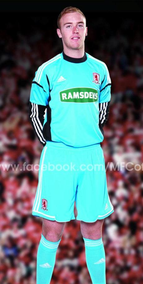 Cyan Middlesbrough GK Shirt
