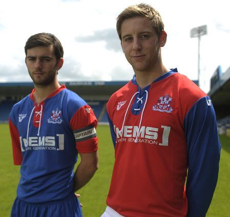 Gillingham Kit 2013