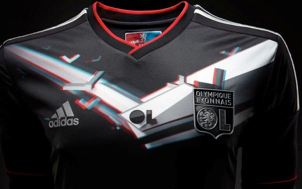 Lyon 3D Football Kit 12-13