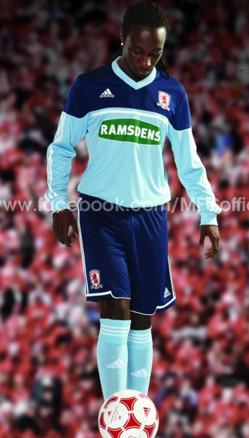 Middlesbrough New Top 2012