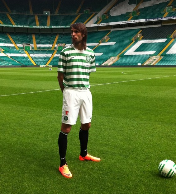 New Celtic Strip 2012-13