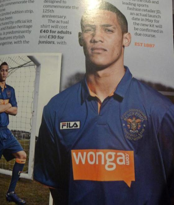 New FILA Blackpool Third Kit 2012-2013
