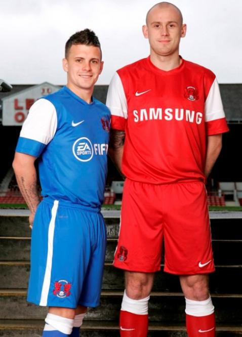 New Leyton Orient Shirt 2012-13