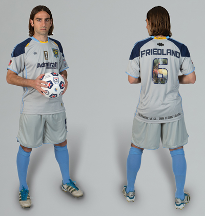 New MN Stars Soccer Jersey