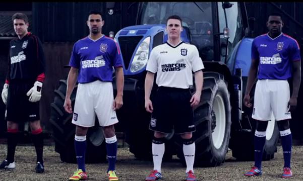 New Mitre Ipswich Kits 2012