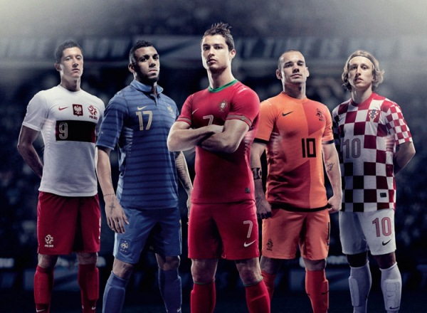 New Nike Home Euro 2012 Kits