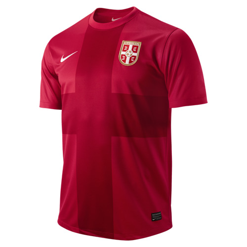 New Serbia Home Shirt 2012