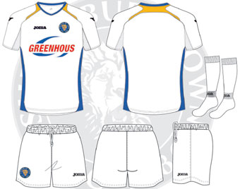 New Shrewsbury Town Kit 2013