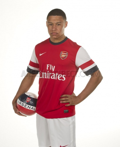 Alex Oxlade-Chamberlain Arsenal Jersey 2013