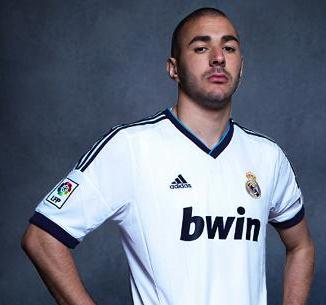 Benzema Real Madrid Jersey 2013