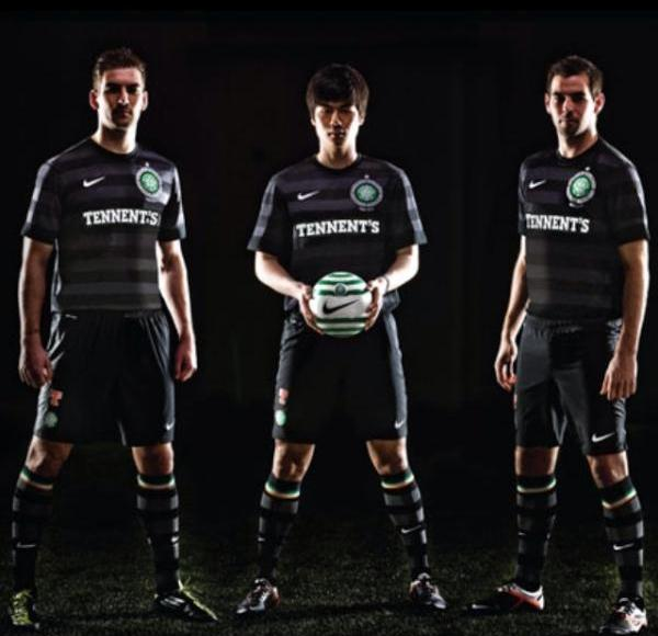 Black Celtic Away Kit 2012-13