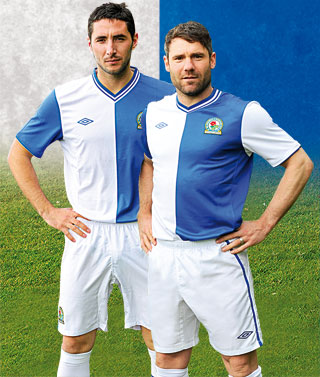 Blackburn Rovers Soccer Jersey 2012