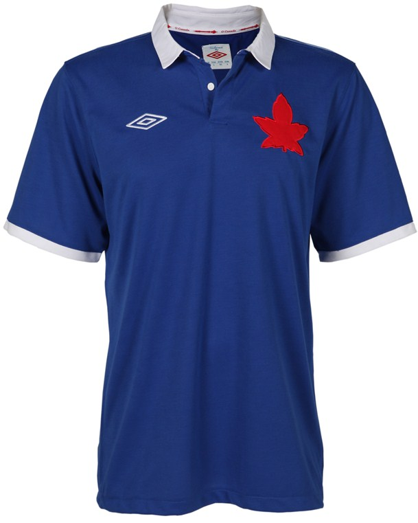 Blue Canada Soccer Jersey