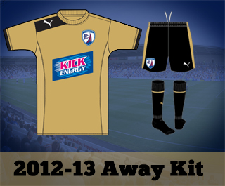 Chesterfield FC Away Shirt 12-13