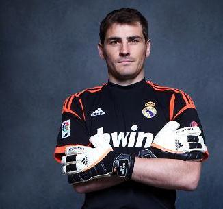 Iker Casillas Real Madrid Goalkeeper Jersey 2013