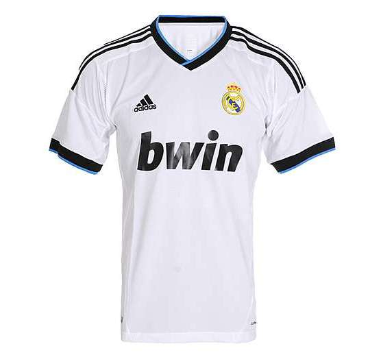 New Real Madrid Jersey 2012 2013  Real Madrid Home Away Kits 12 13