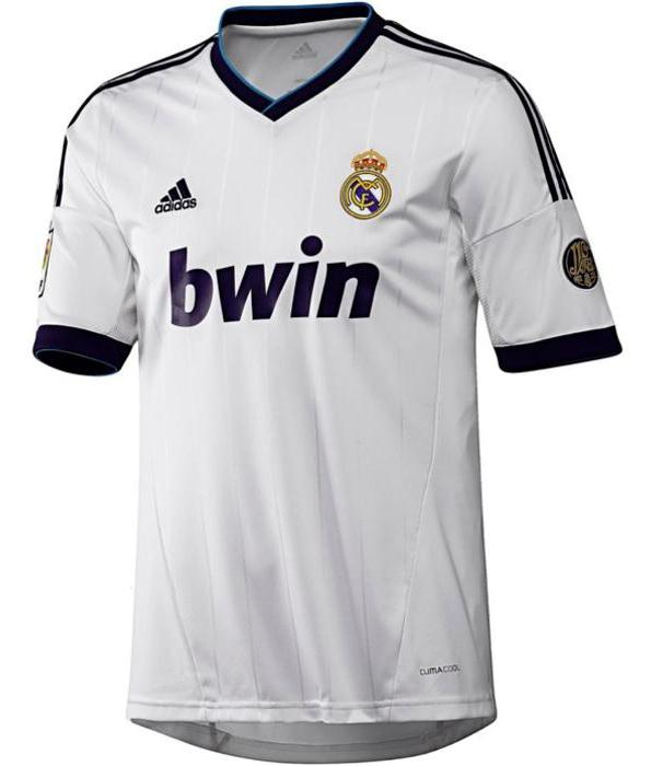 Leaked New Real Madrid Jersey 2012 2013  Real Madrid Home Away Kits 12