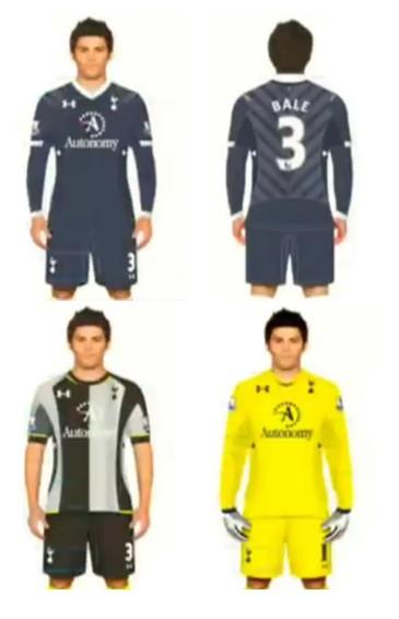 Leaked Tottenham Kit 2013