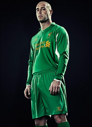 Liverpool New Goalkeeper Jersey 2013 Warrior Sports